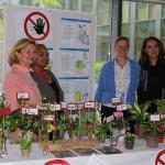 Prächtiger Infostand der Kinderkrankenschwestern des RGU München!