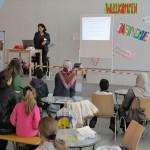 Gut besuchter arabischer Kindersicherheitsvortrag vom MiMi