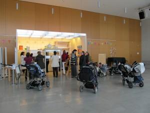 Viel Spaß und reger Sicherheits-Austausch unter den Müttern des Babytreffs