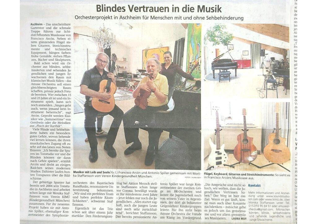 Merkur Artikel Amuse Orchestra